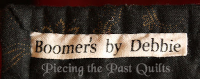 Boomer's Quilt Label