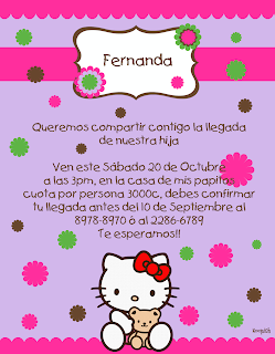 Invitaciones Digitales para Baby Shower