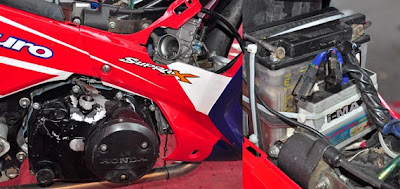 Modifikasi supra x125 mp3