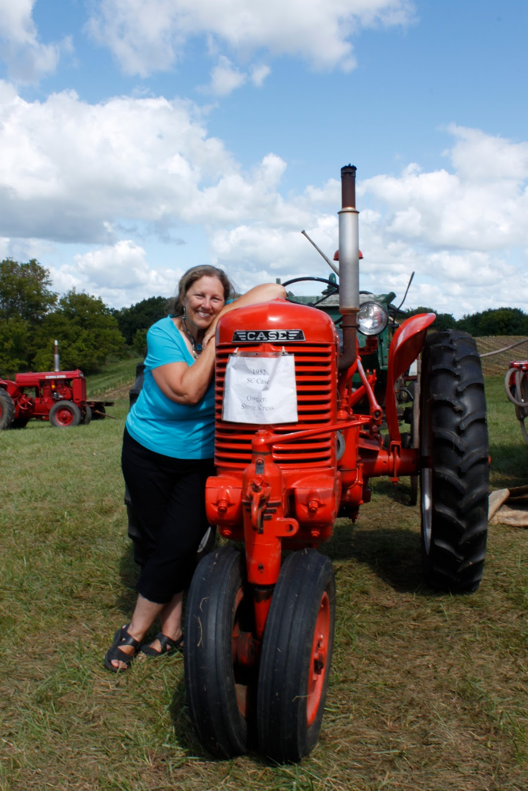 Antique Tractor Shows : Wisconsin historical markers tractor show and thresheree