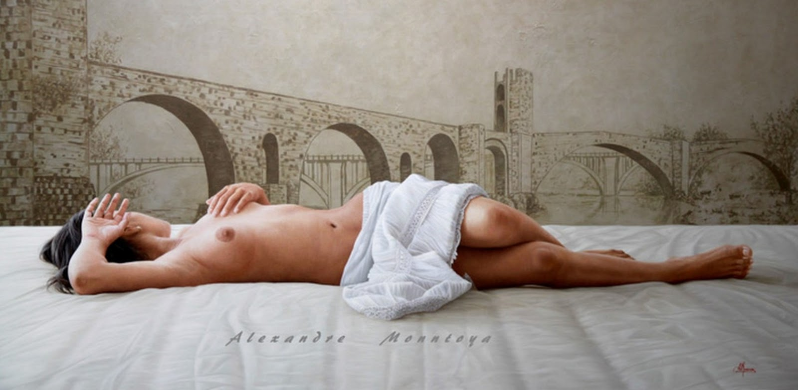 Serie Desnudos Femeninos Al Leo