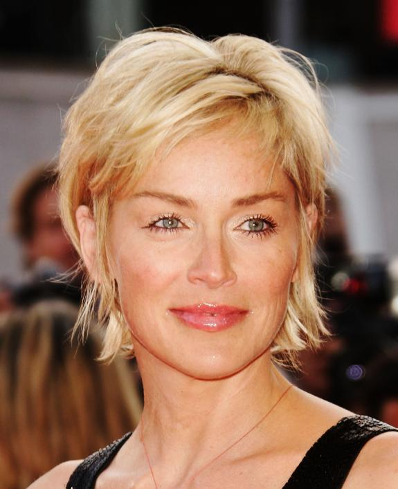 sharon stone hairstyles 2011