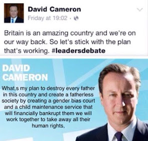 Send David Cameron a Family Justice Reform Message