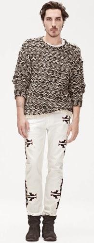 Isabel Marant para H&M pantalones jersey hombre