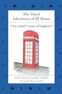 THE TRAVEL ADVENTURES OF PJ MOUSE : england cover
