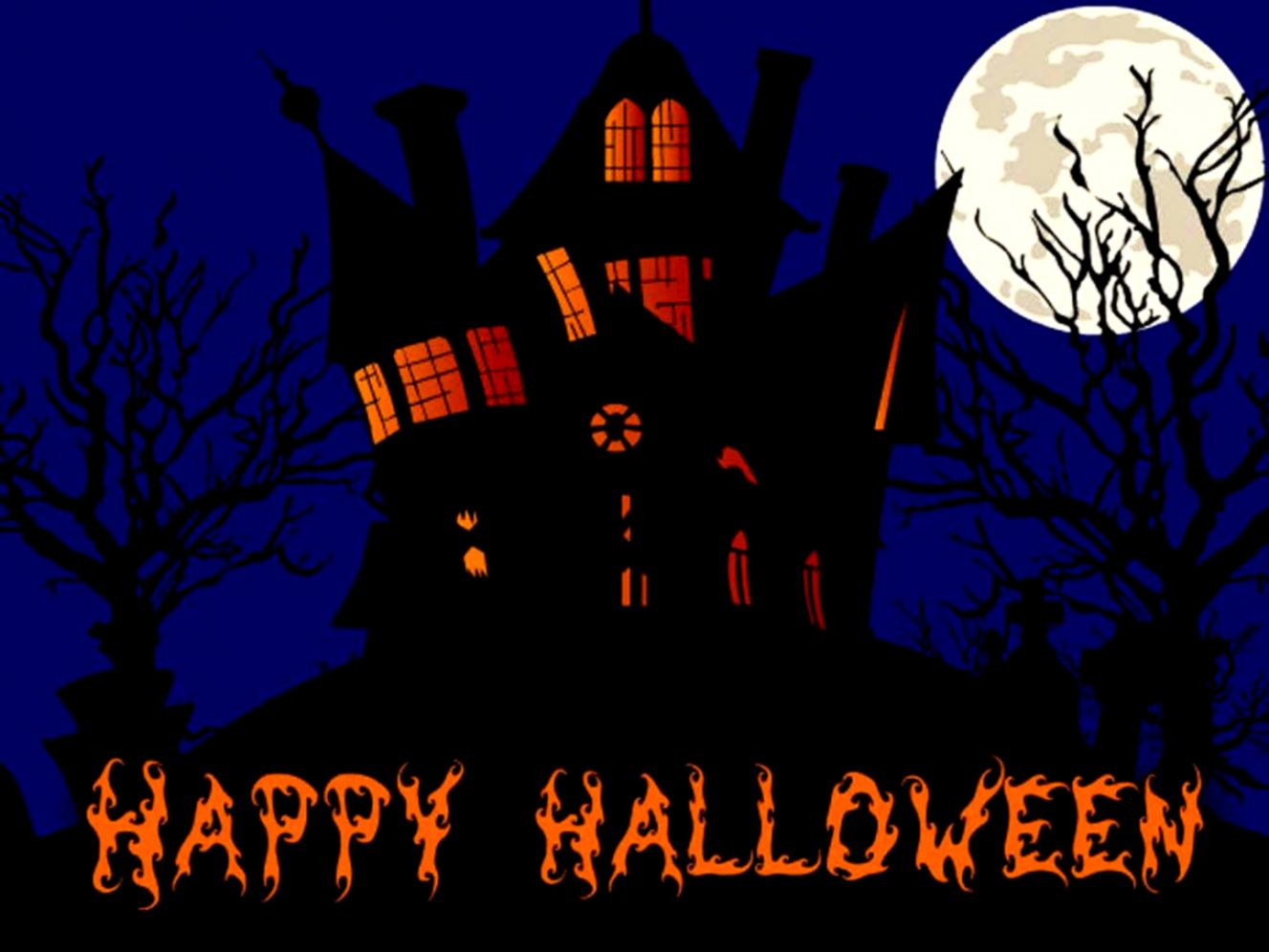 happy halloween wallpaper HD
