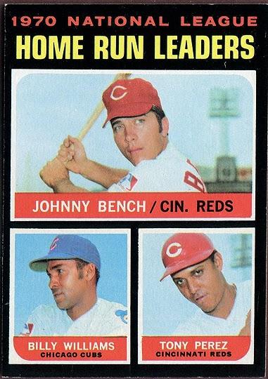 when topps had base balls hall of fame leaders v 1971