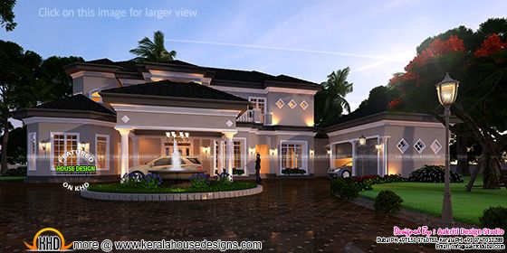 new modern luxury villa kerala home design and floor plans