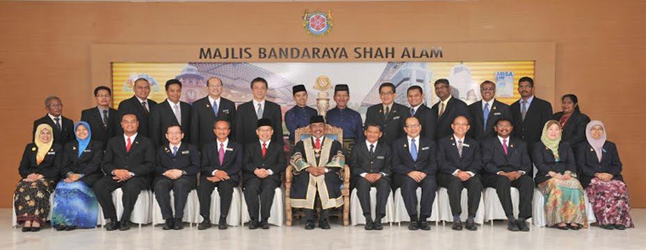 Ahli-ahli Majlis Bandaraya Shah Alam Sesi 2012/2013