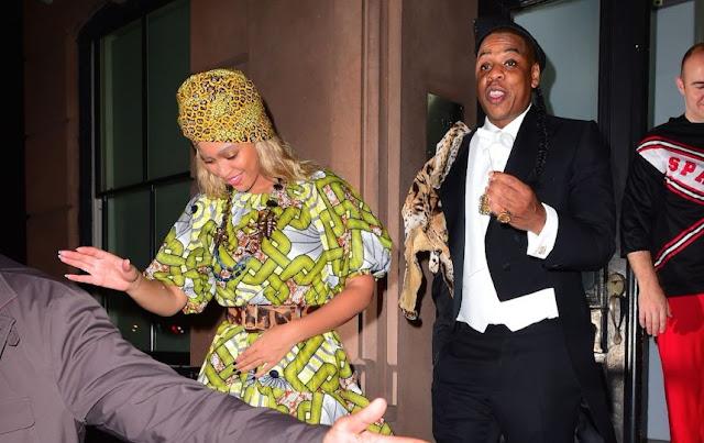 Halloween 2015 - Jay Z et Beyoncé rejouent Un prince à New York