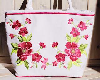 вышитые сумки, летние сумки, сумка на лето, сумка своими руками, модный аксессуар