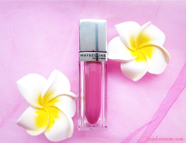 Maybelline Lip Polish Glam 18 by Color Sensational Review Pinkuroom