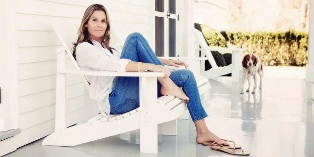 aerin lauder jeans stories