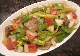 stir-fried celery
