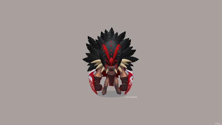 Bloodseeker Dota 2 Chibi