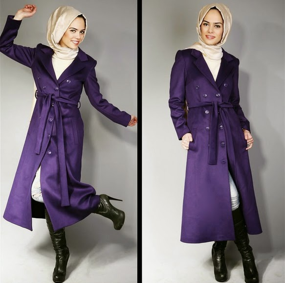 Manteau hijab 2015