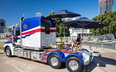 Το υπερ-φορτηγό που φτιάχτηκε για λογαριασμό σουλτάνου της Μαλαισίας
