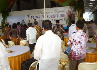 PT pacific furniture opening ceremony