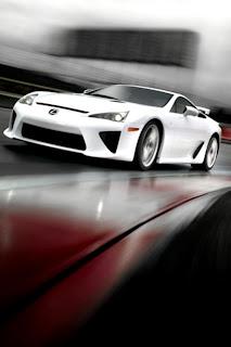 Lexus LFA iPhone Wallpaper
