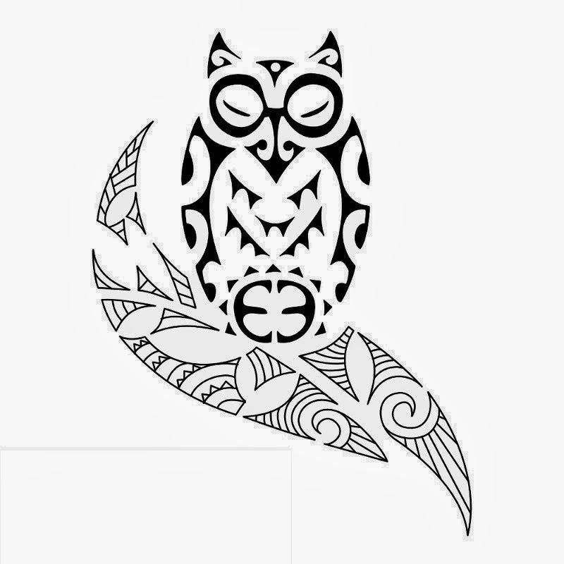 Tattoos Book FREE Printable Tattoo Stencils Owl