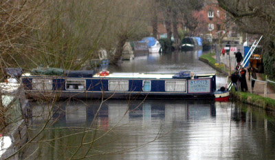 Saving narrowboat Sophie Kennet Avon Newbury 2013