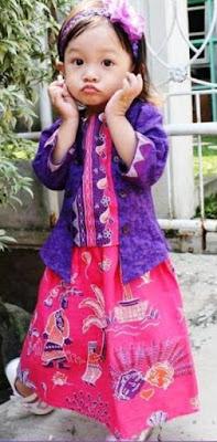 Model Baju Batik Anak Perempuan 3
