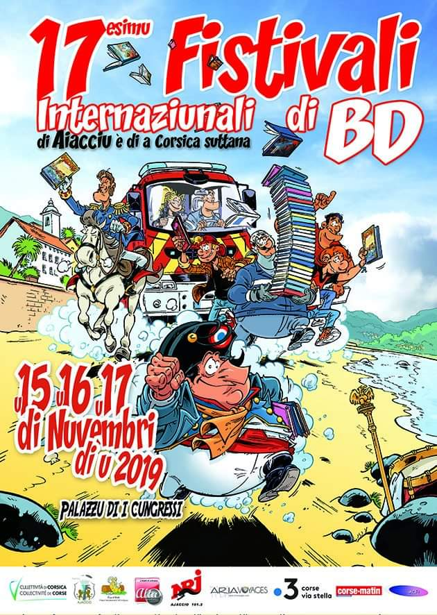 17ème édition du Festival International de la BD d'Ajaccio