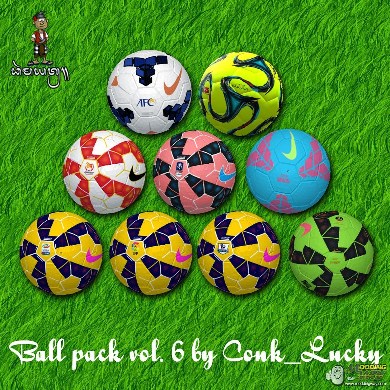 NEW BallPacks PES6 by Conk_Lucky