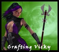 Crafting Vicky