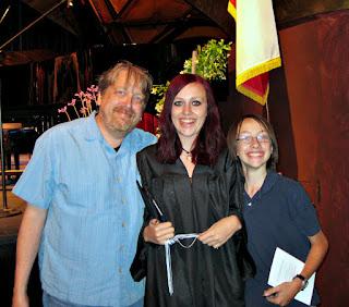 Family portrait, HS@MC Commencement 2012