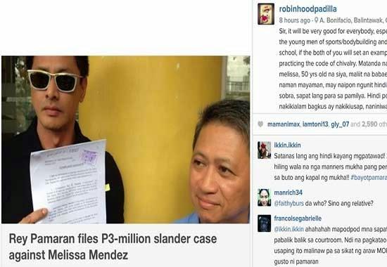 Binoy asked Rey Pamaran to Forgive Melissa Mendez