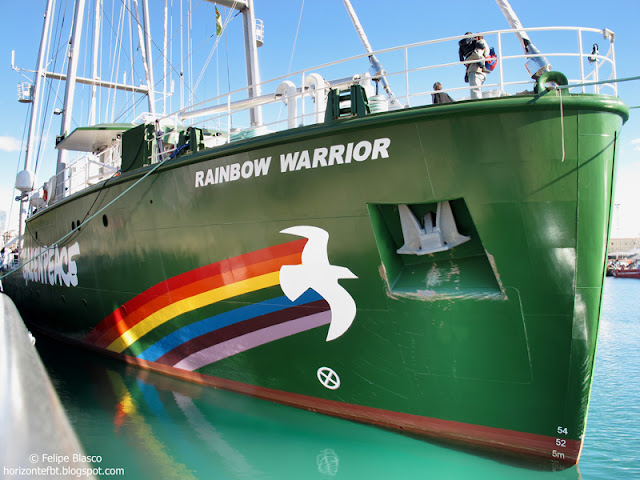 Rainbow Warrior Greenpeace