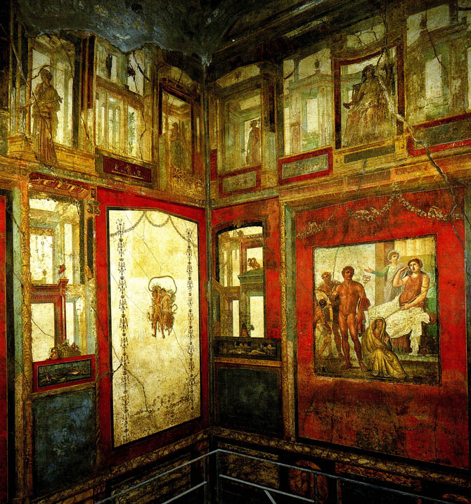 Art Now and Then: Roman Painting
