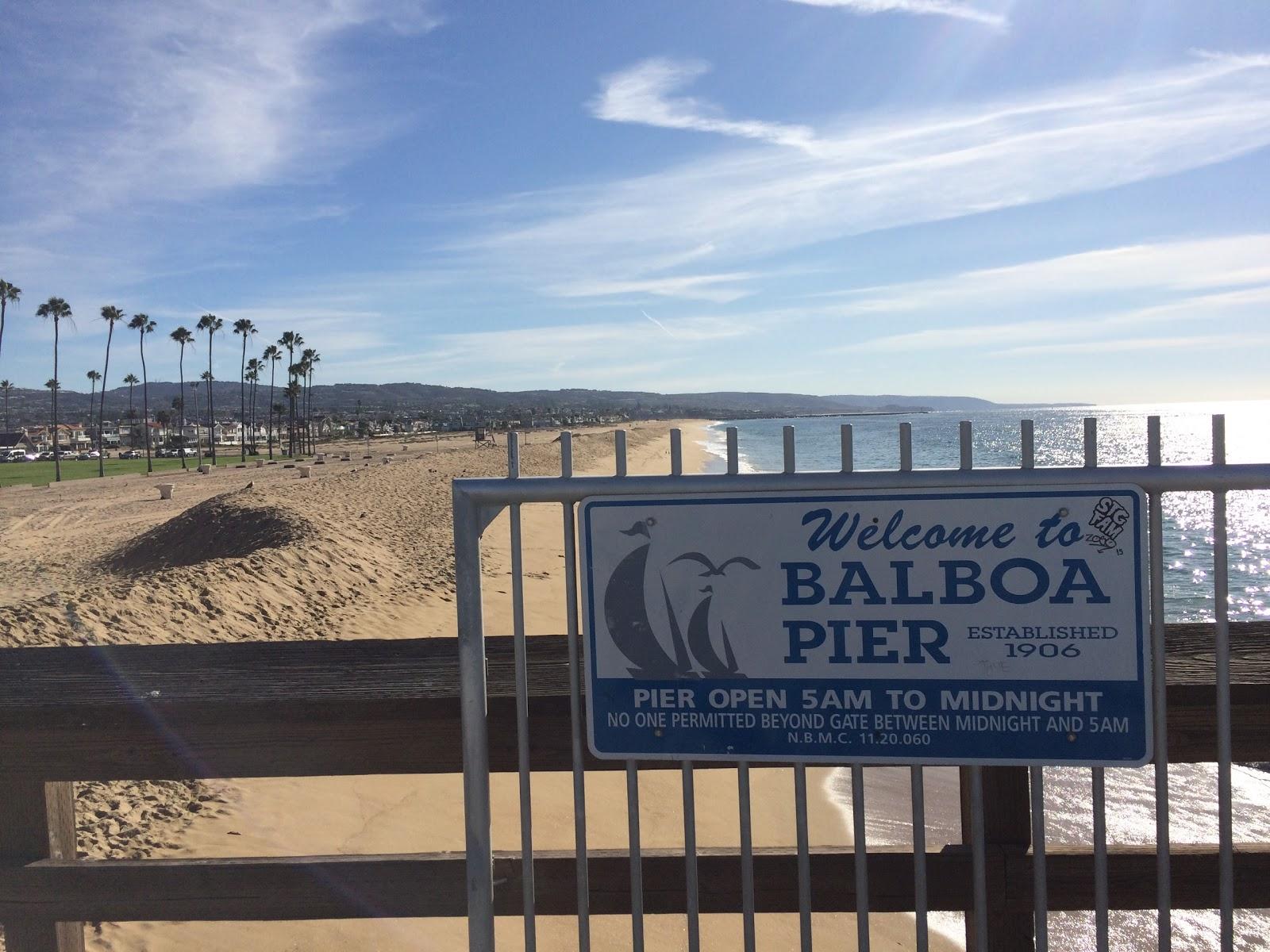 Balboa Pier Newport Beach Fire Pits