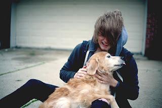 Ruan e o seu cão