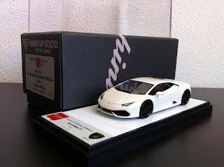 Lamborghini Huracan LP610-4, Make Up Eidolon, Pearl White, 1/43
