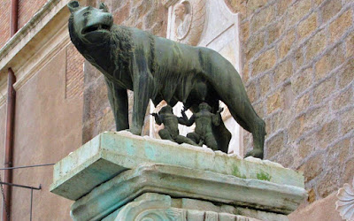Romulus and Reamus Capitoline Hill Rome