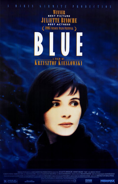 Three Colors: Blue, Juliette Binoche, Directed by Krzysztof Kieslowski