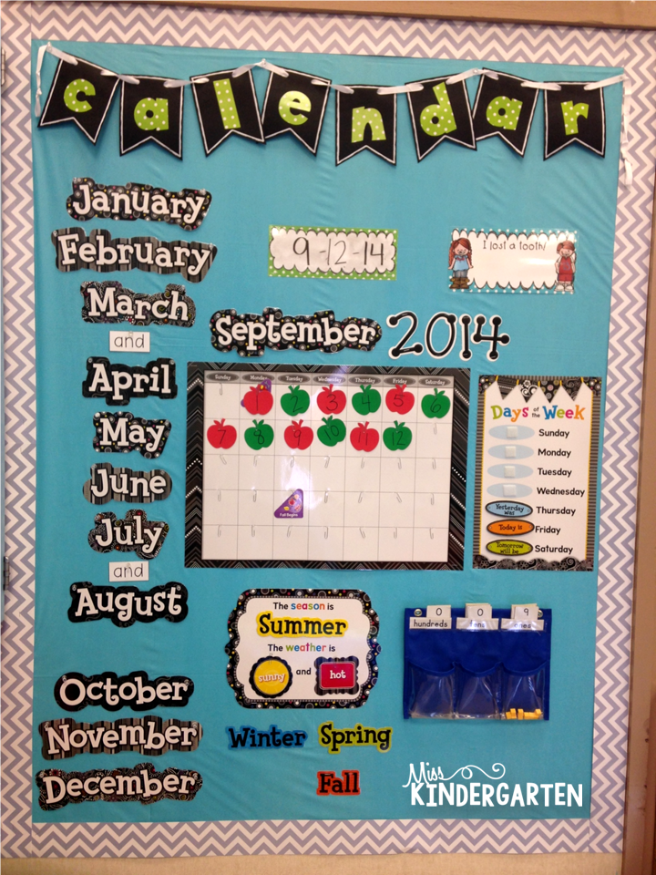 Calendar Ideas For Classroom : Classroom pictures miss kindergarten