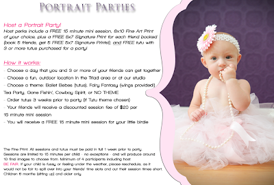 Winston Salem Portrait Parties by Fantasy Photography