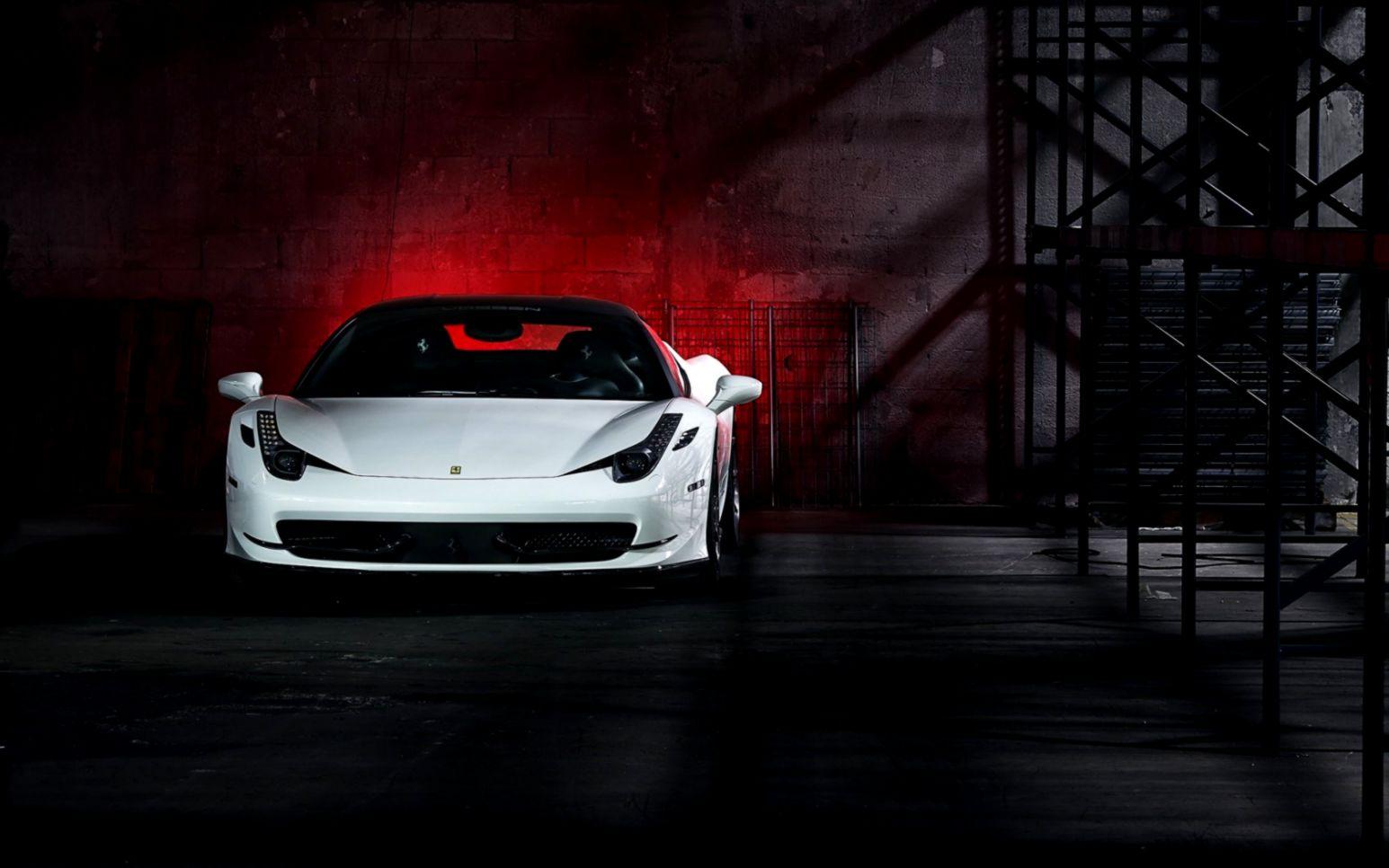 Ferrari 458 Italia White Car Hd Wallpaper   Free High ...