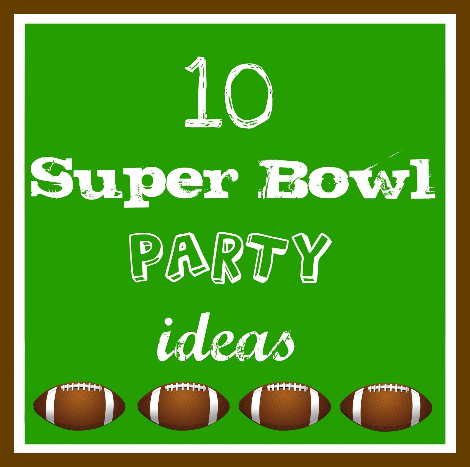 Super Bowl Party Wording Ideas