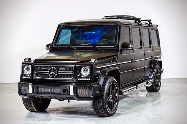 Passion for luxury armored mercedes benz g63 amg limousine for How much is a mercedes benz g63