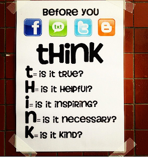 poster with the think acronym