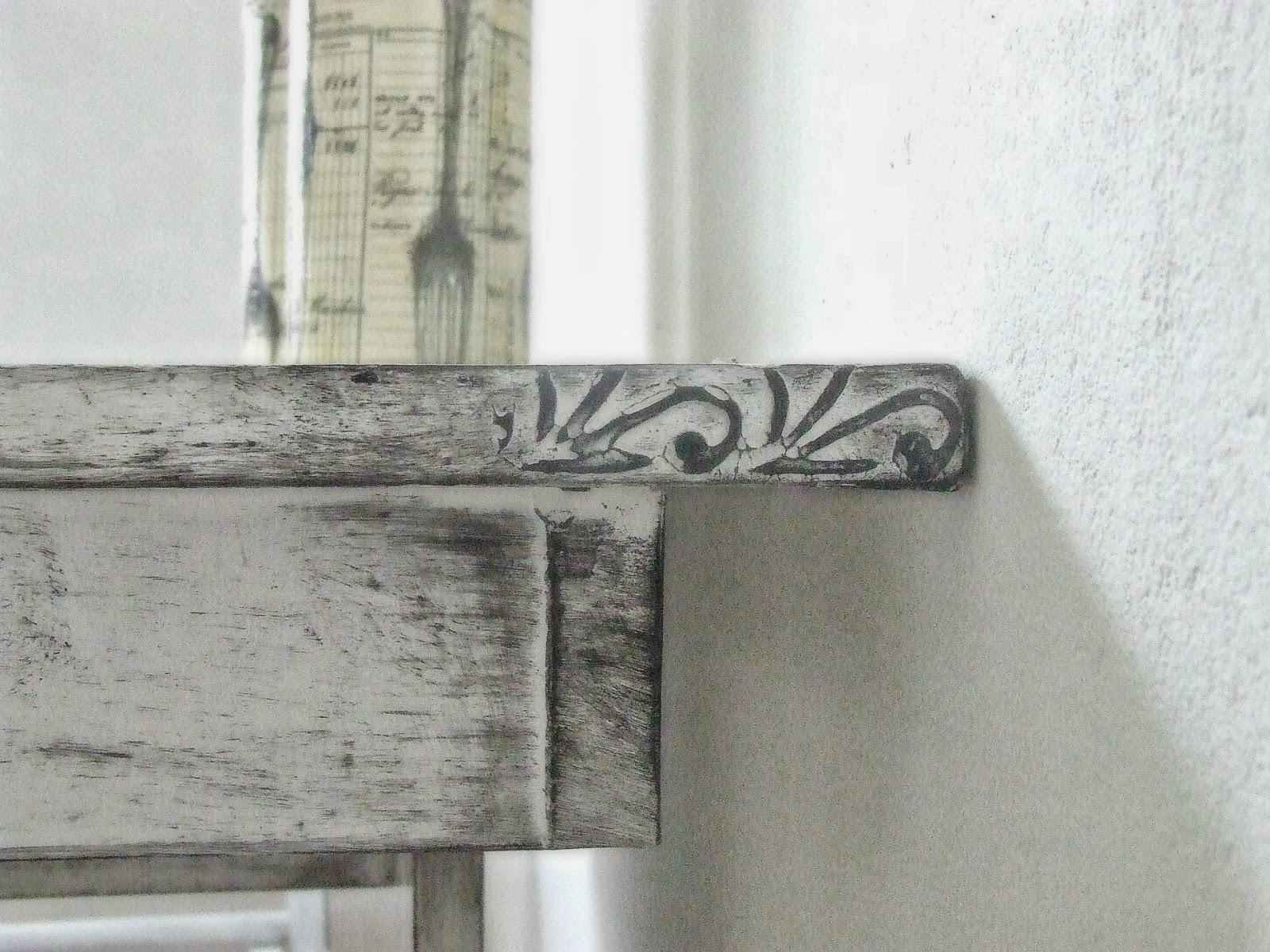 co zrobić ze starym stołem pomysł DIY