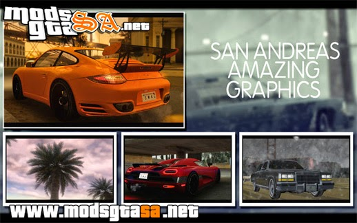 SA - ENB San Andreas Amazing Graphics