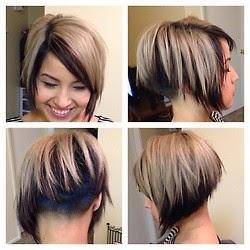 corte de pelo corto bob cara redonda