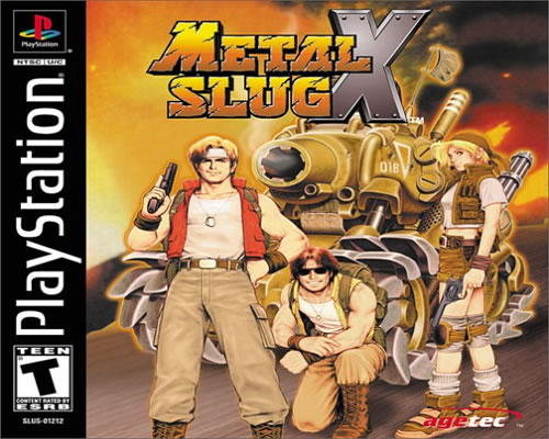 PSX] Metal Slug X [31Mb][Descarga Directa]