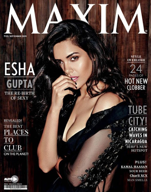 Esha Gupta Maxim