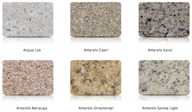 Marmoraria tavares bastos alguns tipos de pedra for Tipos de granito para pisos